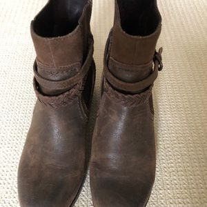 Ugg Brown Krewe Sherling Ankle Boot